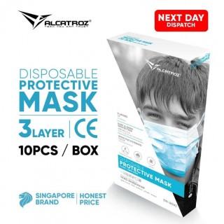 3-Ply Disposable Face Masks 10/box